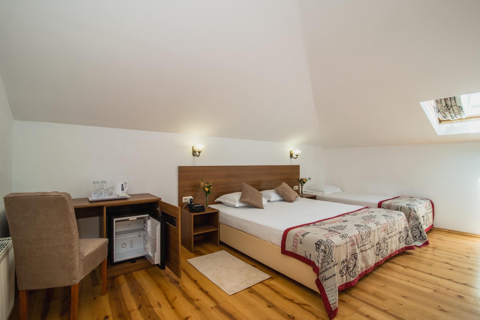Номер категории Комфорт третьего этажа | Мини отель Вилла Онейро